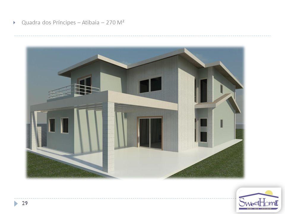 Quadra dos Príncipes – Atibaia – 270 M²