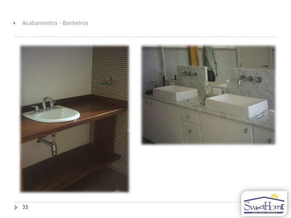 Acabamentos - Banheiros