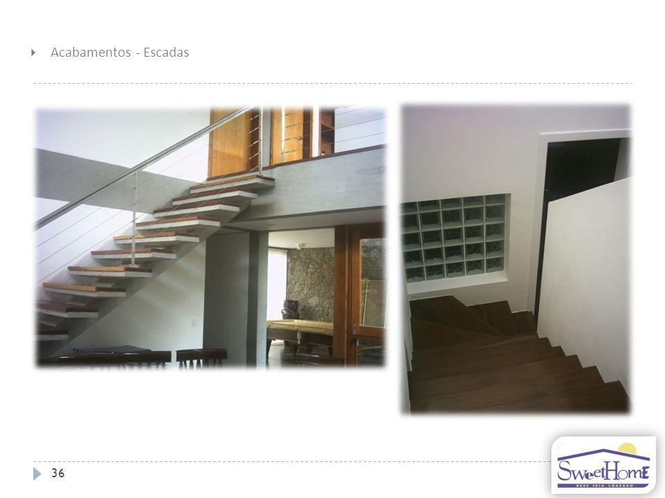 Acabamentos - Escadas