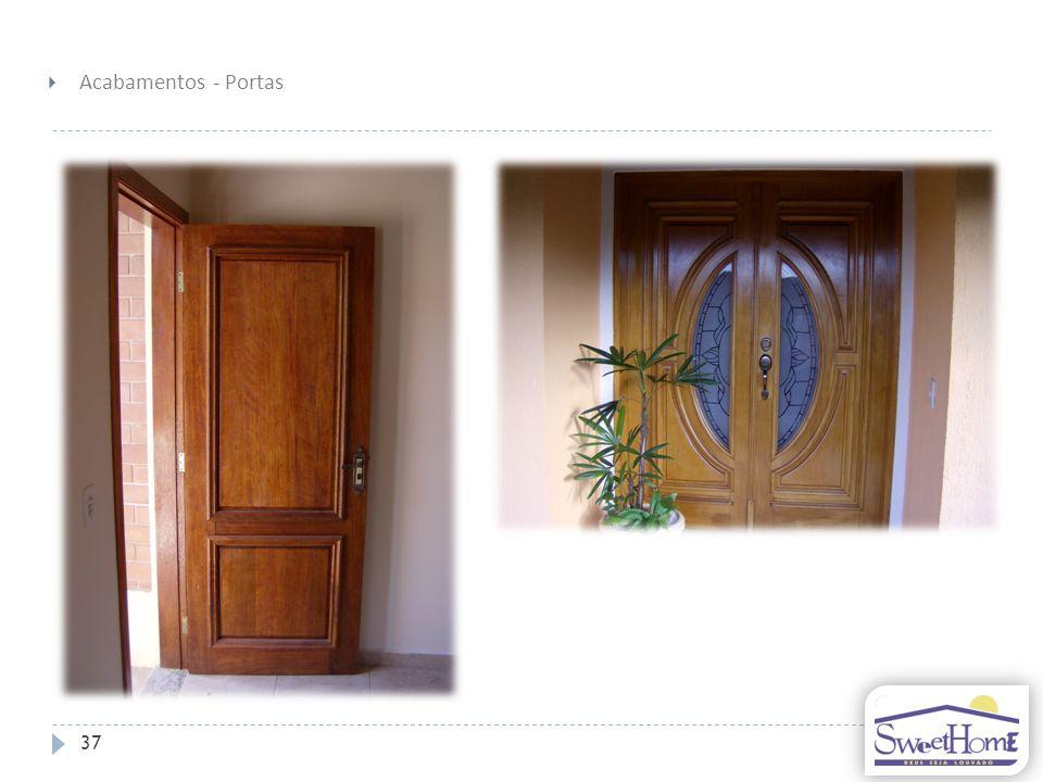 Acabamentos - Portas