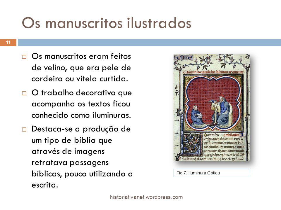 Os manuscritos ilustrados