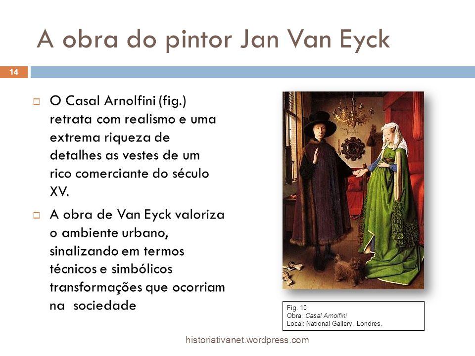 A obra do pintor Jan Van Eyck