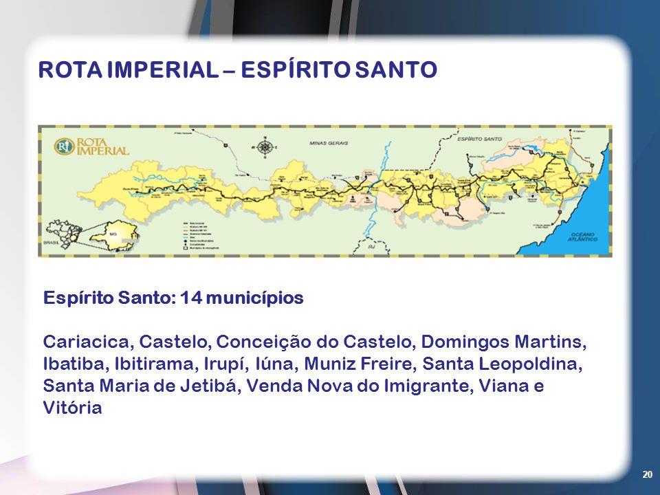 ROTA IMPERIAL – ESPÍRITO SANTO