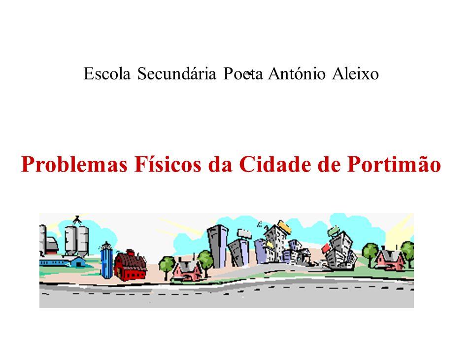 Problemas Físicos da Cidade de Portimão