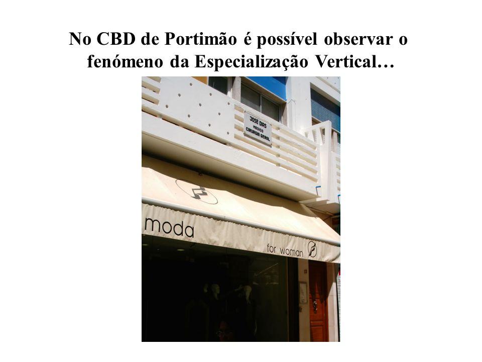 No CBD de Portimão é possível observar o
