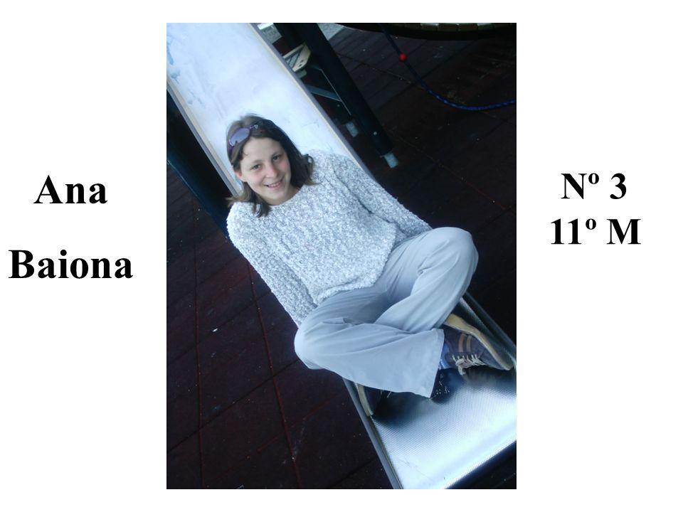 Ana Baiona Nº 3 11º M