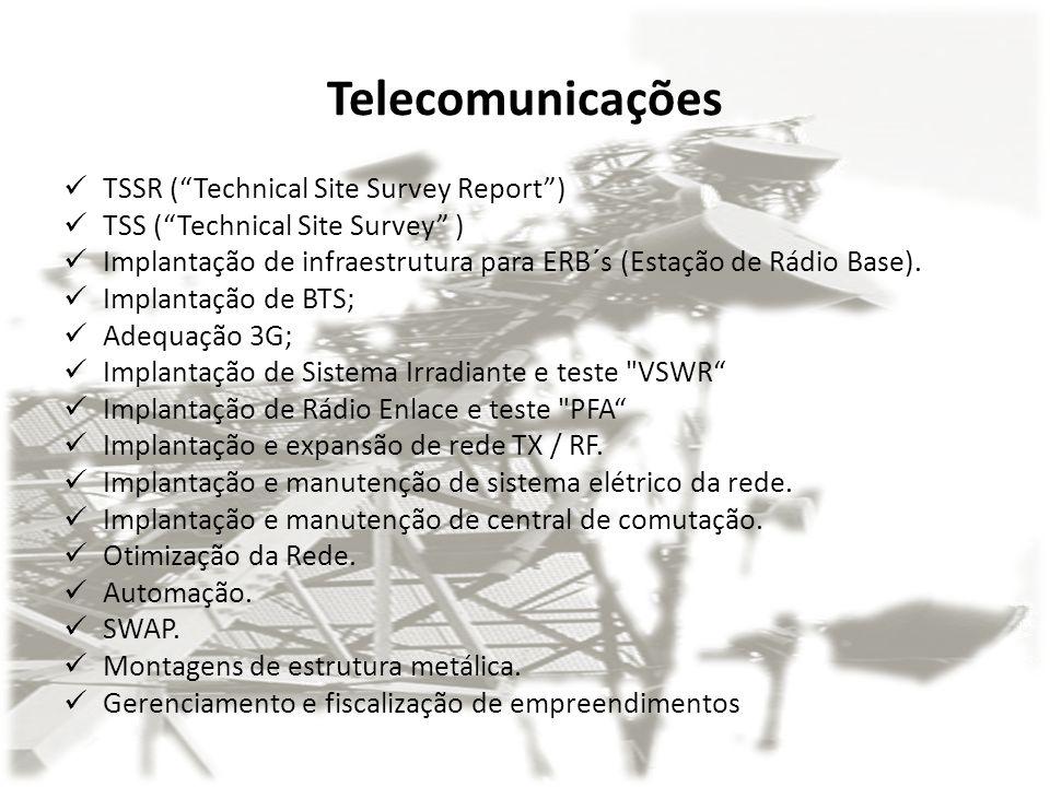 Telecomunicações TSSR ( Technical Site Survey Report )