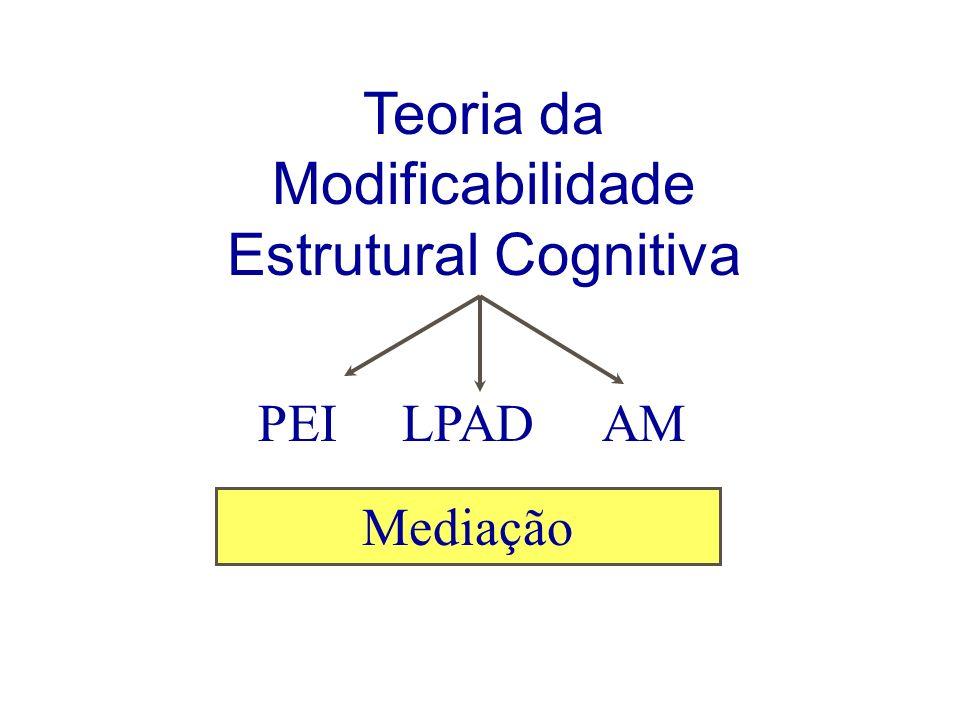 Teoria da Modificabilidade Estrutural Cognitiva