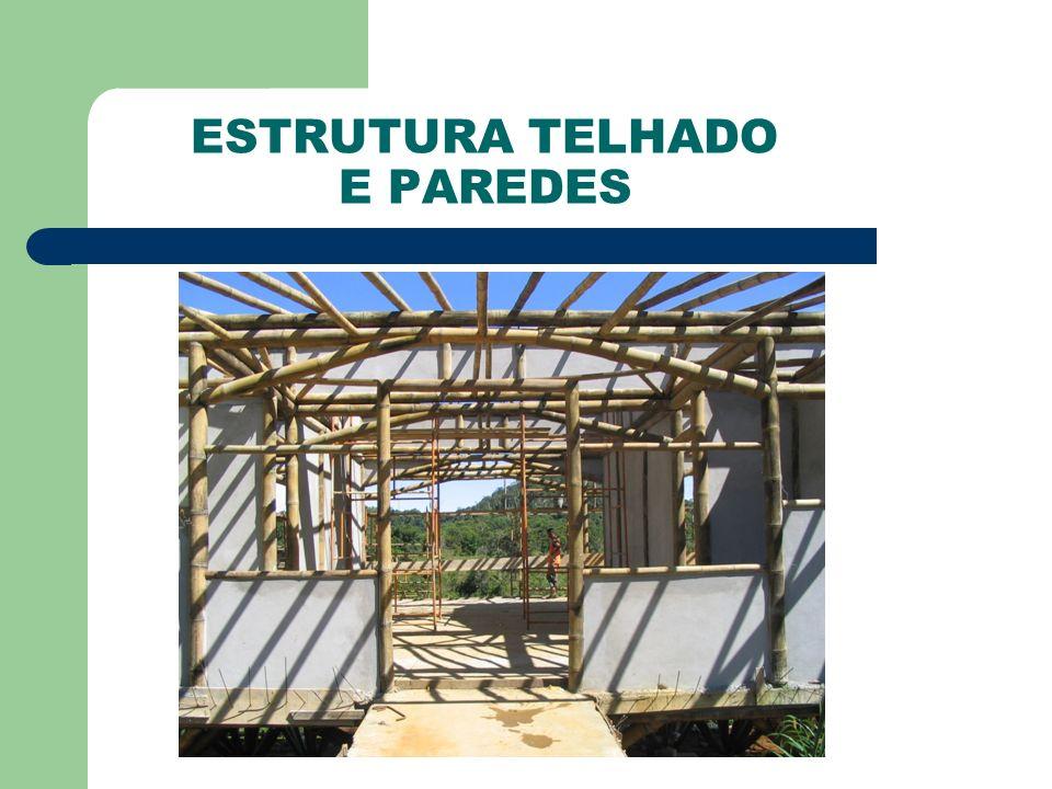 ESTRUTURA TELHADO E PAREDES
