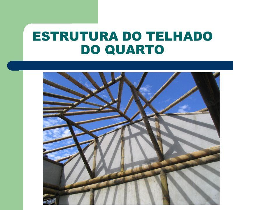 ESTRUTURA DO TELHADO DO QUARTO