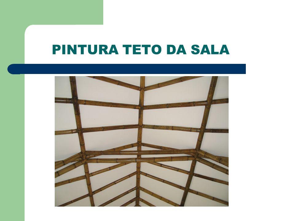 PINTURA TETO DA SALA