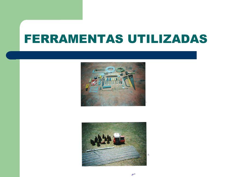 FERRAMENTAS UTILIZADAS
