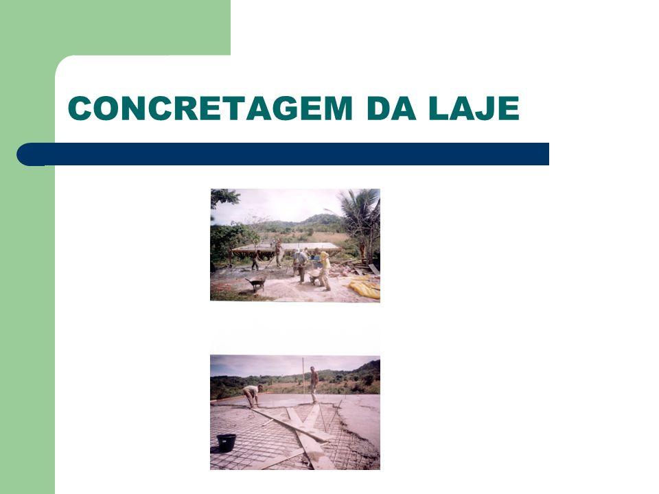 CONCRETAGEM DA LAJE