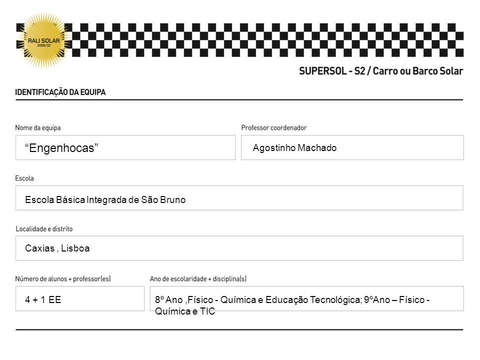 Engenhocas Agostinho Machado Escola Básica Integrada de São Bruno