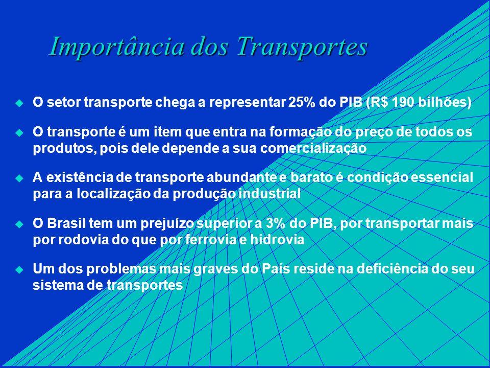 Importância dos Transportes