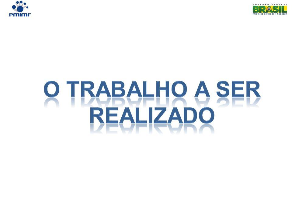 O TRABALHO A SER REALIZADO