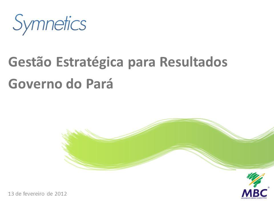 Gestão Estratégica para Resultados Governo do Pará