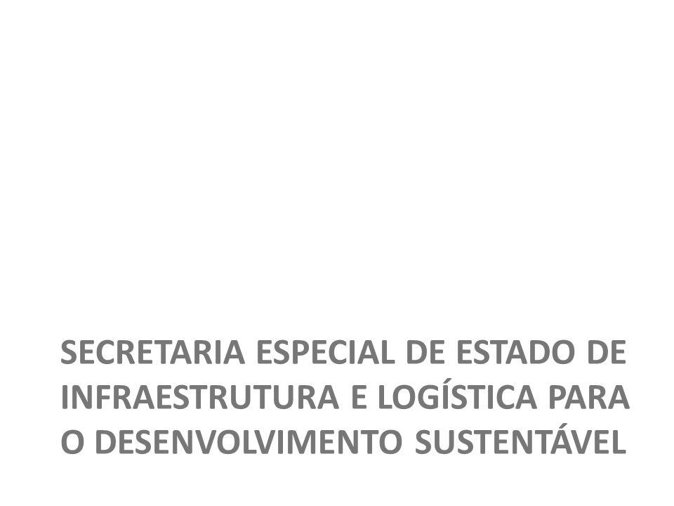 Secretaria Especial de Estado de Infraestrutura e Logística para o Desenvolvimento Sustentável
