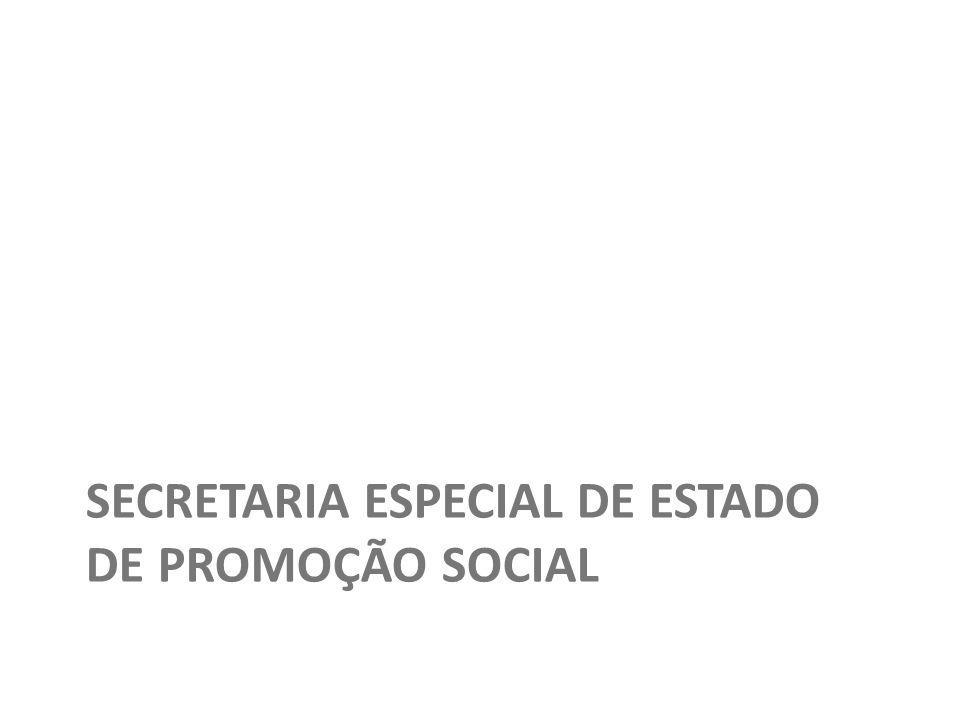 SECRETARIA ESPECIAL DE ESTADO DE PROMOÇÃO SOCIAL