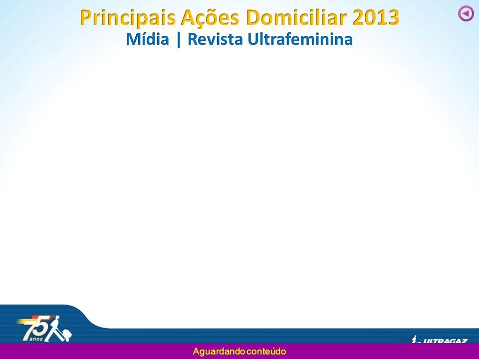 Principais Ações Domiciliar 2013 Mídia | Revista Ultrafeminina