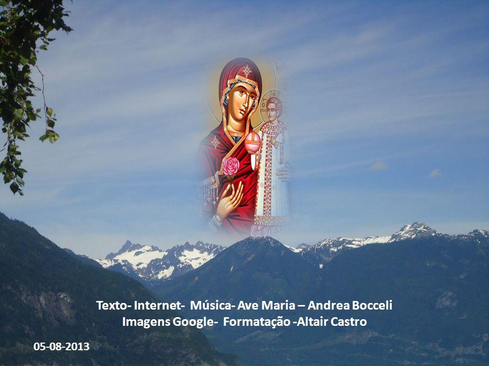 Texto- Internet- Música- Ave Maria – Andrea Bocceli