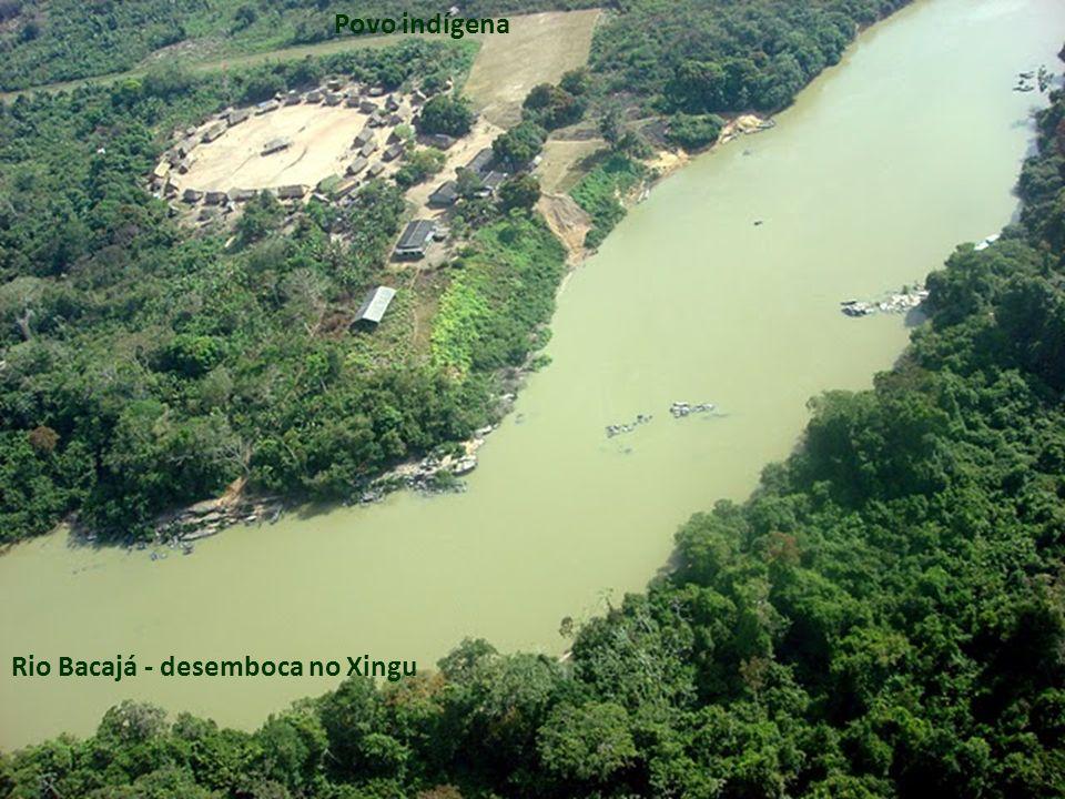 Povo indígena Rio Bacajá - desemboca no Xingu