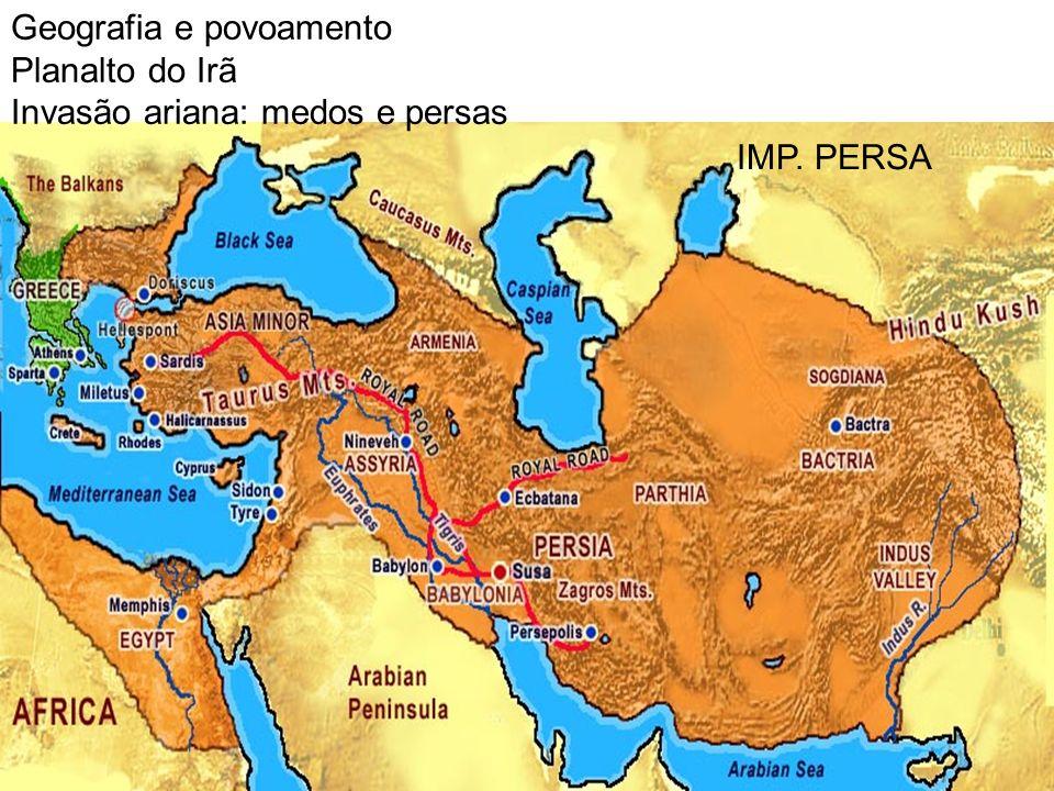 Geografia e povoamento