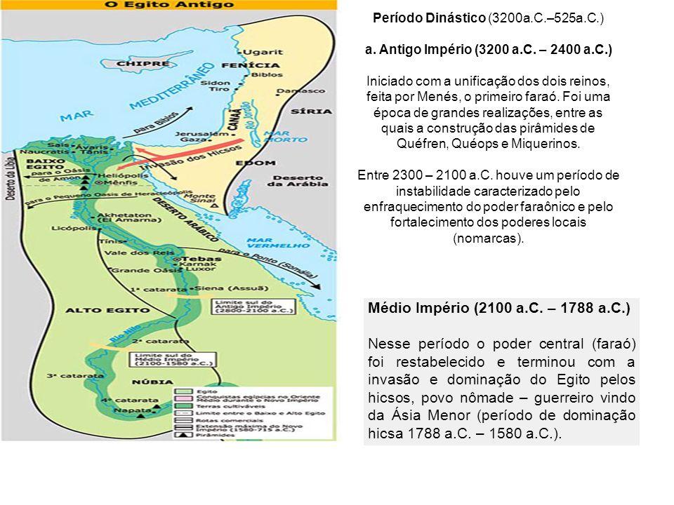 Período Dinástico (3200a.C.–525a.C.)