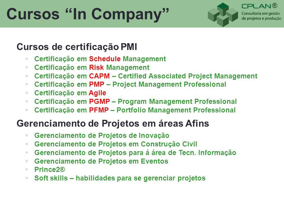Cursos In Company Cursos de certificação PMI