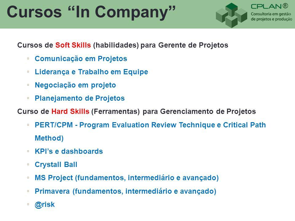 Cursos In Company Cursos de Soft Skills (habilidades) para Gerente de Projetos. Comunicação em Projetos.