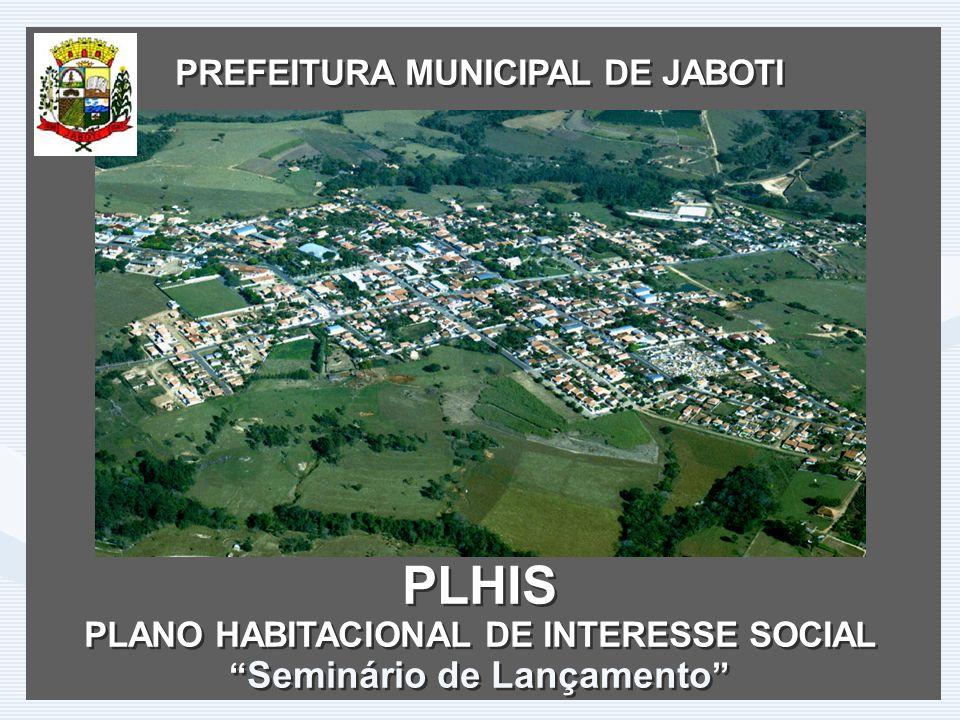 PLHIS PREFEITURA MUNICIPAL DE JABOTI