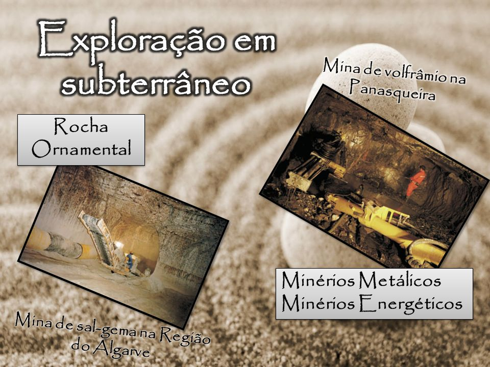 Exploração em subterrâneo