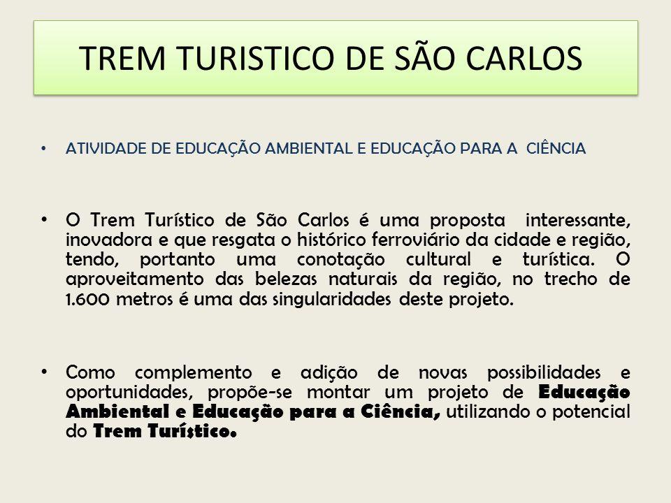 TREM TURISTICO DE SÃO CARLOS