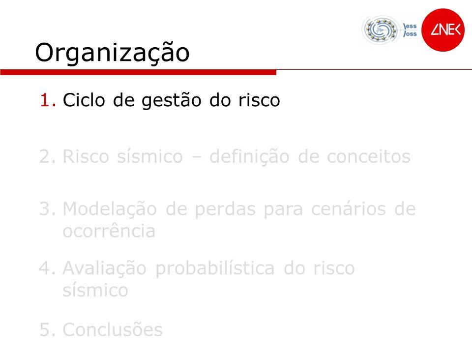 Organização Ciclo de gestão do risco