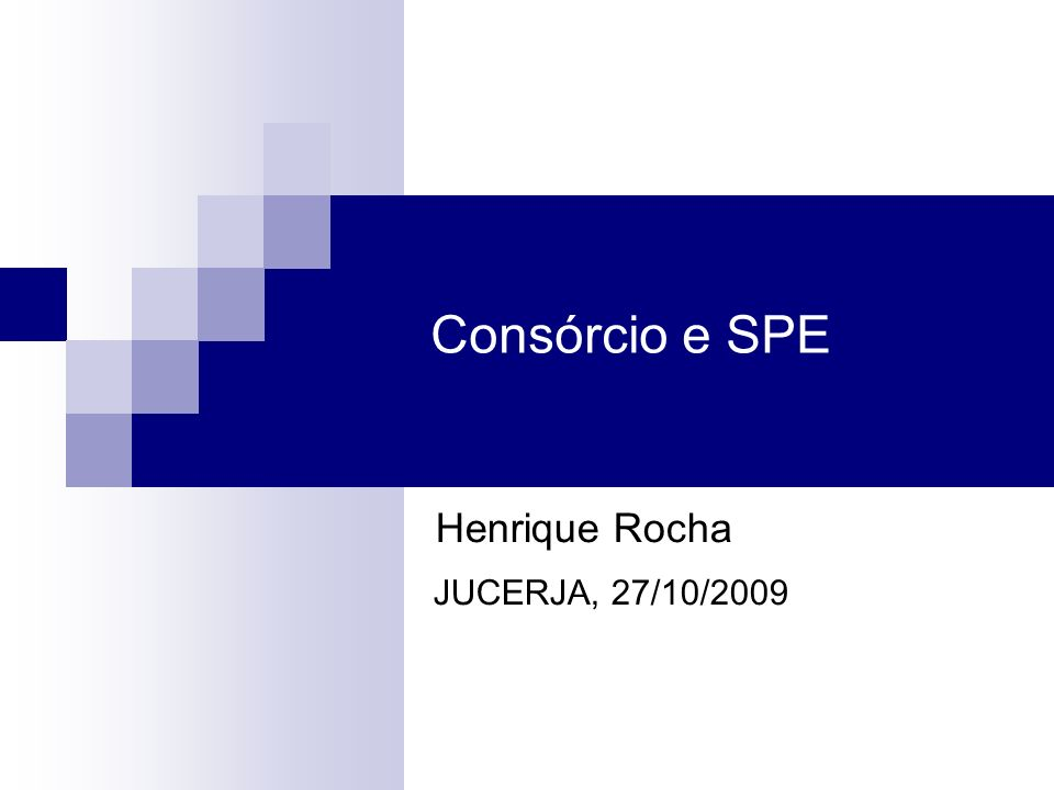 Henrique Rocha JUCERJA, 27/10/2009