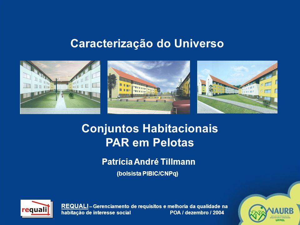 Conjuntos Habitacionais PAR em Pelotas