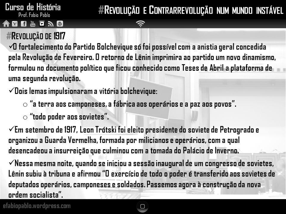 #Revolução e Contrarrevolução num mundo instável