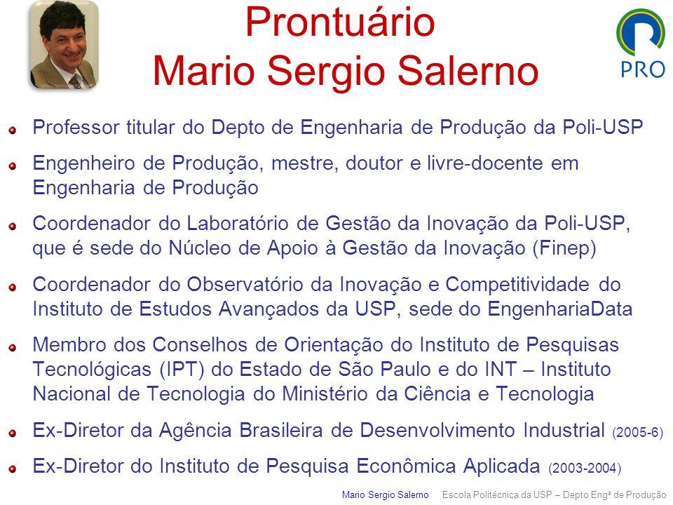 Prontuário Mario Sergio Salerno