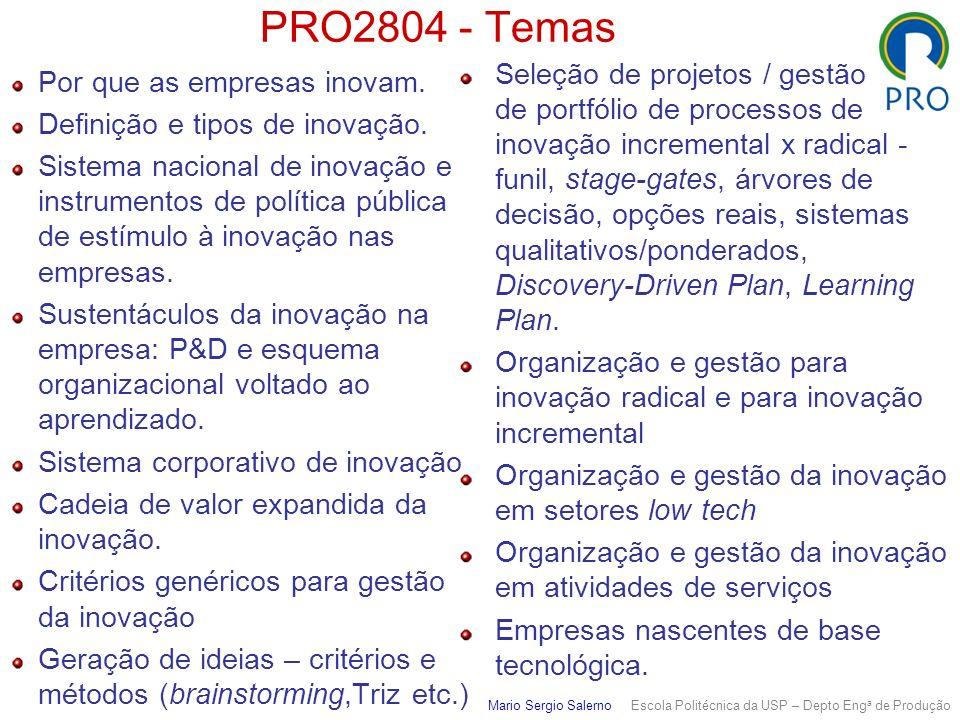 PRO2804 - Temas