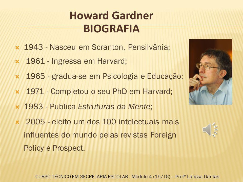 Howard Gardner BIOGRAFIA