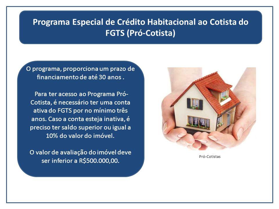 Programa Especial de Crédito Habitacional ao Cotista do FGTS (Pró-Cotista)
