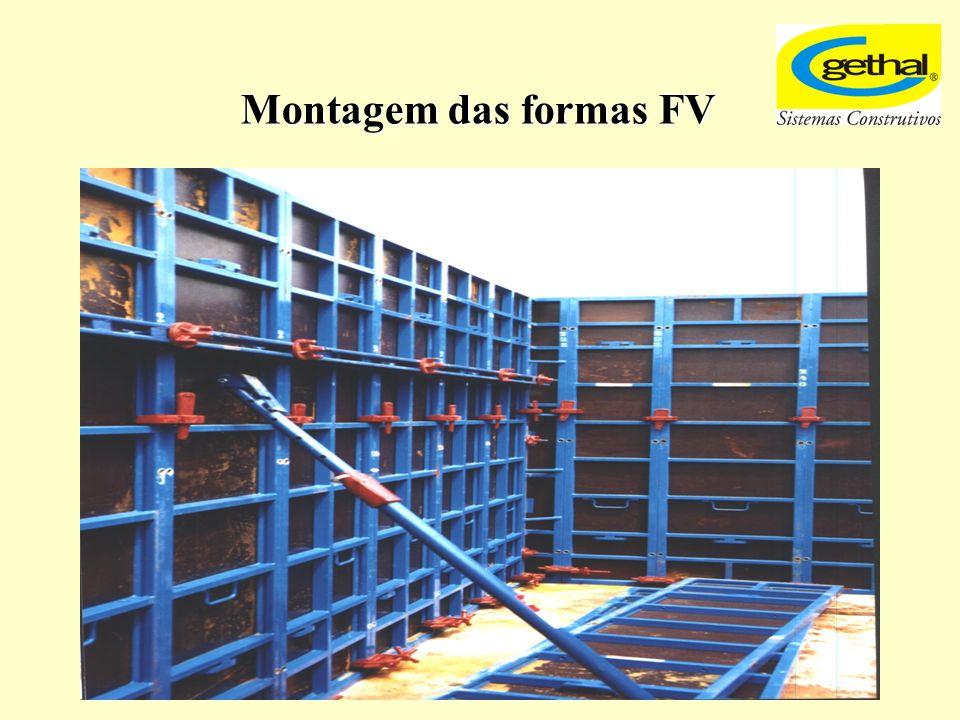Montagem das formas FV