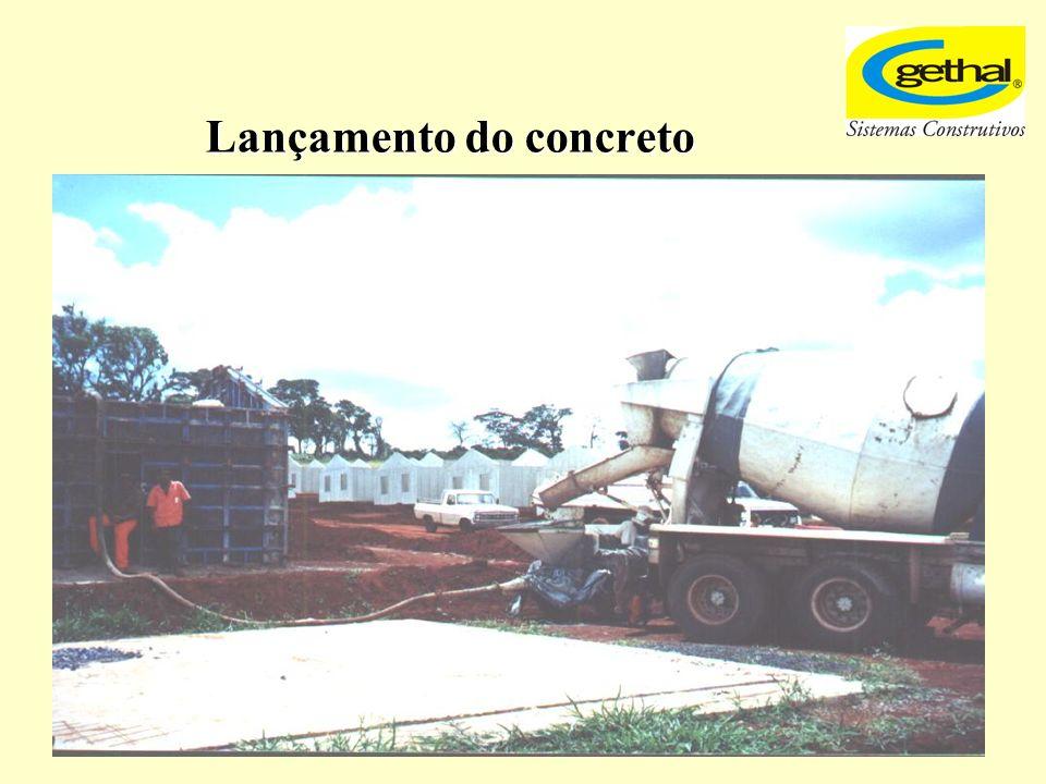 Lançamento do concreto