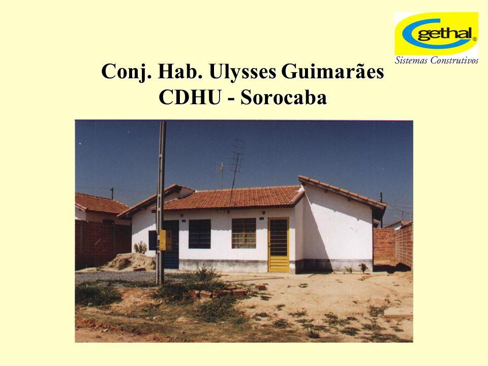 Conj. Hab. Ulysses Guimarães CDHU - Sorocaba