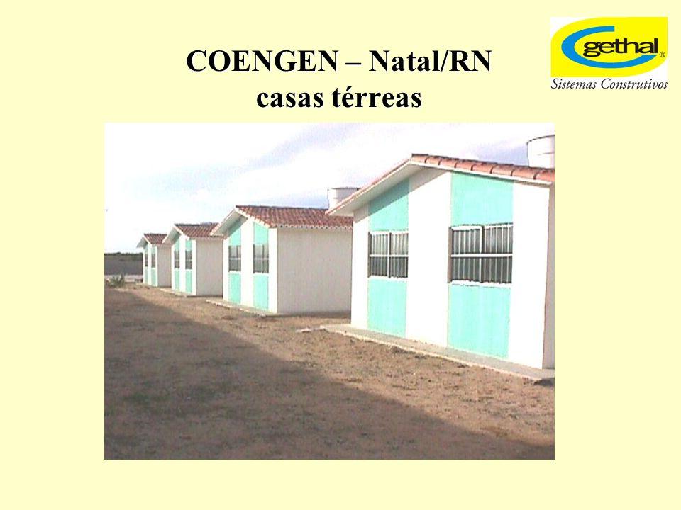 COENGEN – Natal/RN casas térreas