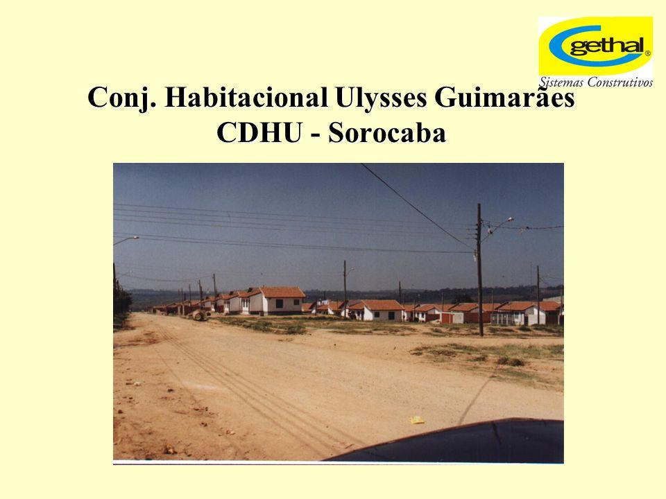 Conj. Habitacional Ulysses Guimarães CDHU - Sorocaba