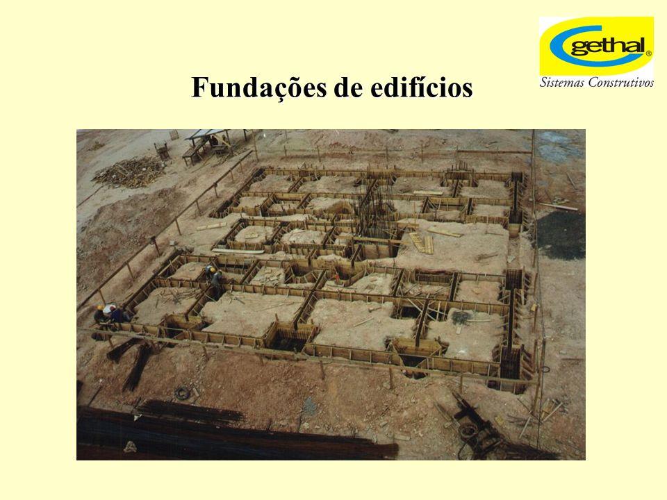 Fundações de edifícios