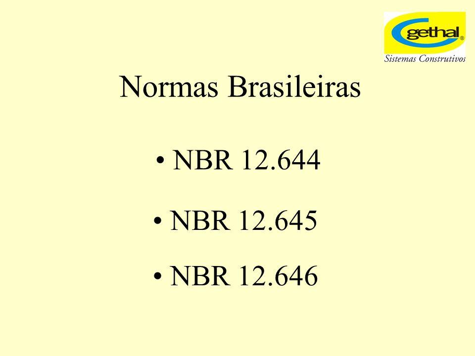 Normas Brasileiras NBR 12.644 NBR 12.645 NBR 12.646