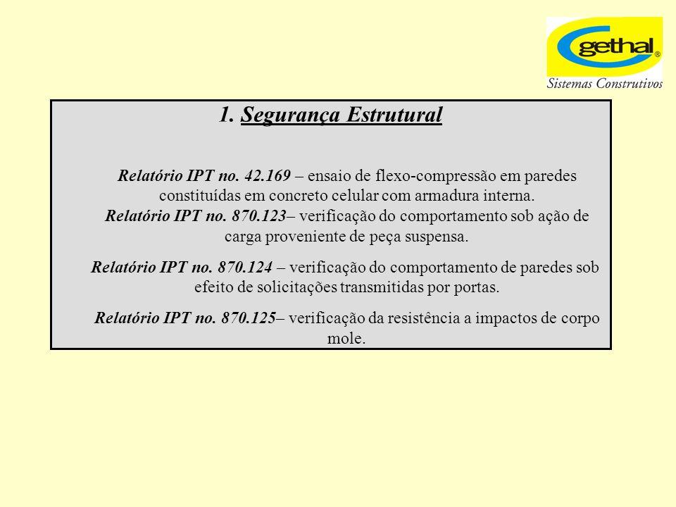 1. Segurança Estrutural