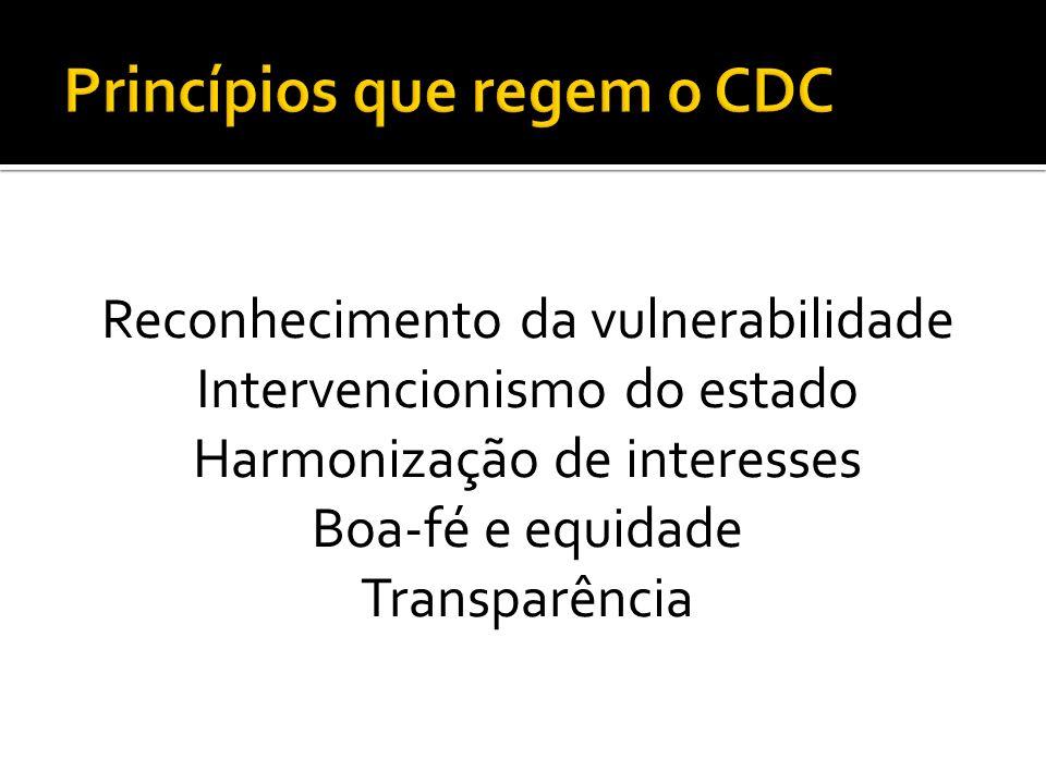 Princípios que regem o CDC